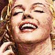 Close Up Beautifully Happy Poster by Atiketta Sangasaeng