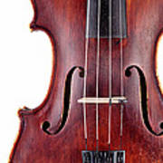 Close Up Of A Violine Poster