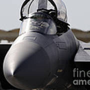 Close-up View Of A F-15c Eagle Poster