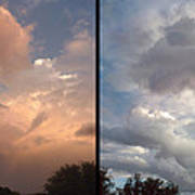 Cloud Diptych Poster