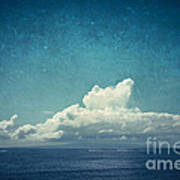 Cloud Over Island Poster