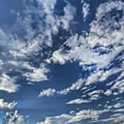 Cloud Puffs Poster