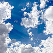 Cloud Study 3852 Poster