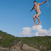 Cloud Surfer Poster
