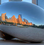 Cloudgate City Poster