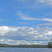 Clouds Over Algoma Poster