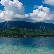 Clouds Over An Island, Hana, Maui Poster