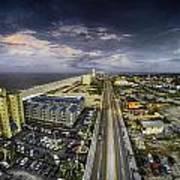 Clouds Over Gulf Shores Poster