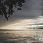 Clouds Over Seneca Lake Poster