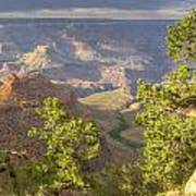 Cloudy Bright Angel Trail II Poster