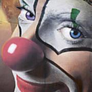 Clown Mural Poster