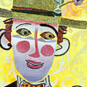Clowning Around Poster by Diane Fine