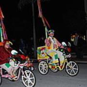 Clowns On Bikes Poster