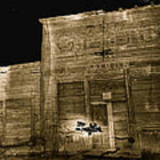 Club Saloon Ghost Town Walcott Wyoming 1971-2010 Poster