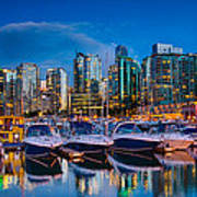 Coal Harbour Poster by Ian Stotesbury