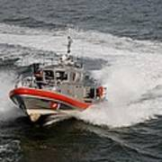 Coast Guard In Action Poster