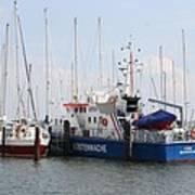 Coast Guard Maasholm Harbor Poster