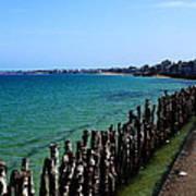 Coastal City Of St Malo France Poster