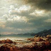Coastal Landscape Poster