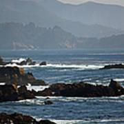 Coastal View - Big Sur II Poster