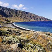 Coastline Of Hierro Island Poster