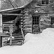 Slayton Pasture Cobber Cabin Trapp Family Lodge Stowe Vermont Poster