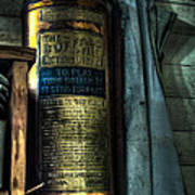 Cobblers Fire Extinguisher Poster