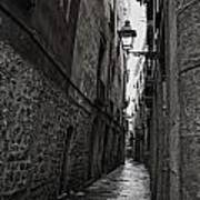 Cobblestones Of Barca Poster