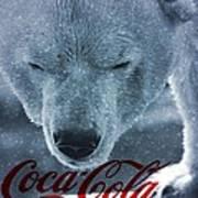 Coca Cola Polar Bear Poster