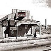 Coca-cola Shack   Alabama Walker Evans Photo Farm Security Administration December 1935-2014 Poster