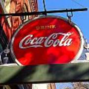 Coca Cola Sign In Georgia Poster