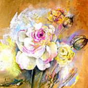 Coeur De Rose Poster