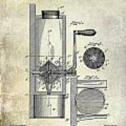 Coffee Mill Patent 1893 Poster