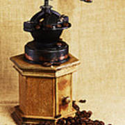 Coffee Grinder Poster by Falko Follert