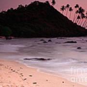 Cola Beach Sunset Poster
