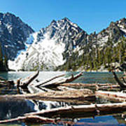 Colchuck Lake Panorama Poster