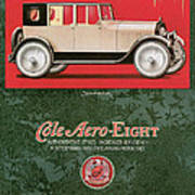 Cole Aero Eight Vintage Poster Poster