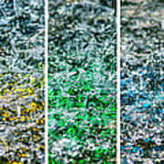 Collage Liquid Rainbow 1 - Featured 3 Poster