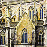 Collegiate St-martin Poster by Richard J Thompson
