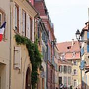 Colmar Small Street Poster