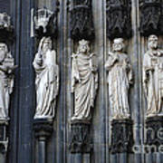 Cologne Cathedral Statuary Poster