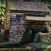 Colonial Grist Mill Poster