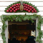 Colonial Williamsburg Yuletide Decorations Poster