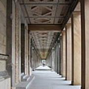Colonnade Neues Museum Berlin Poster