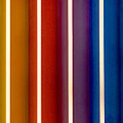 Color Bands Poster