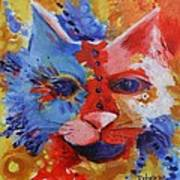 Color Cat Poster