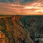 Color Of The Grand Canyon South Rim V8 Poster