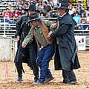 Color Rodeo Shootout Deputies Arrest Outlaw Poster