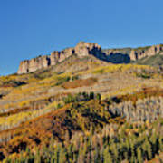 Colorado, Autumn, Just East Of Ridgway Poster