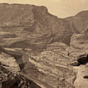 Colorado Canyons, 1872 Poster